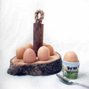 houten eierhouder