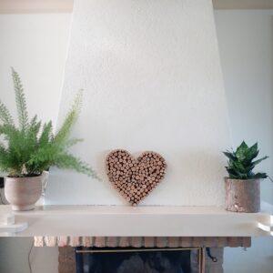 houten wanddecoratie, duurzaam cadeau